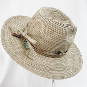 CAPPELLI Straworld Straw Hat With Beads